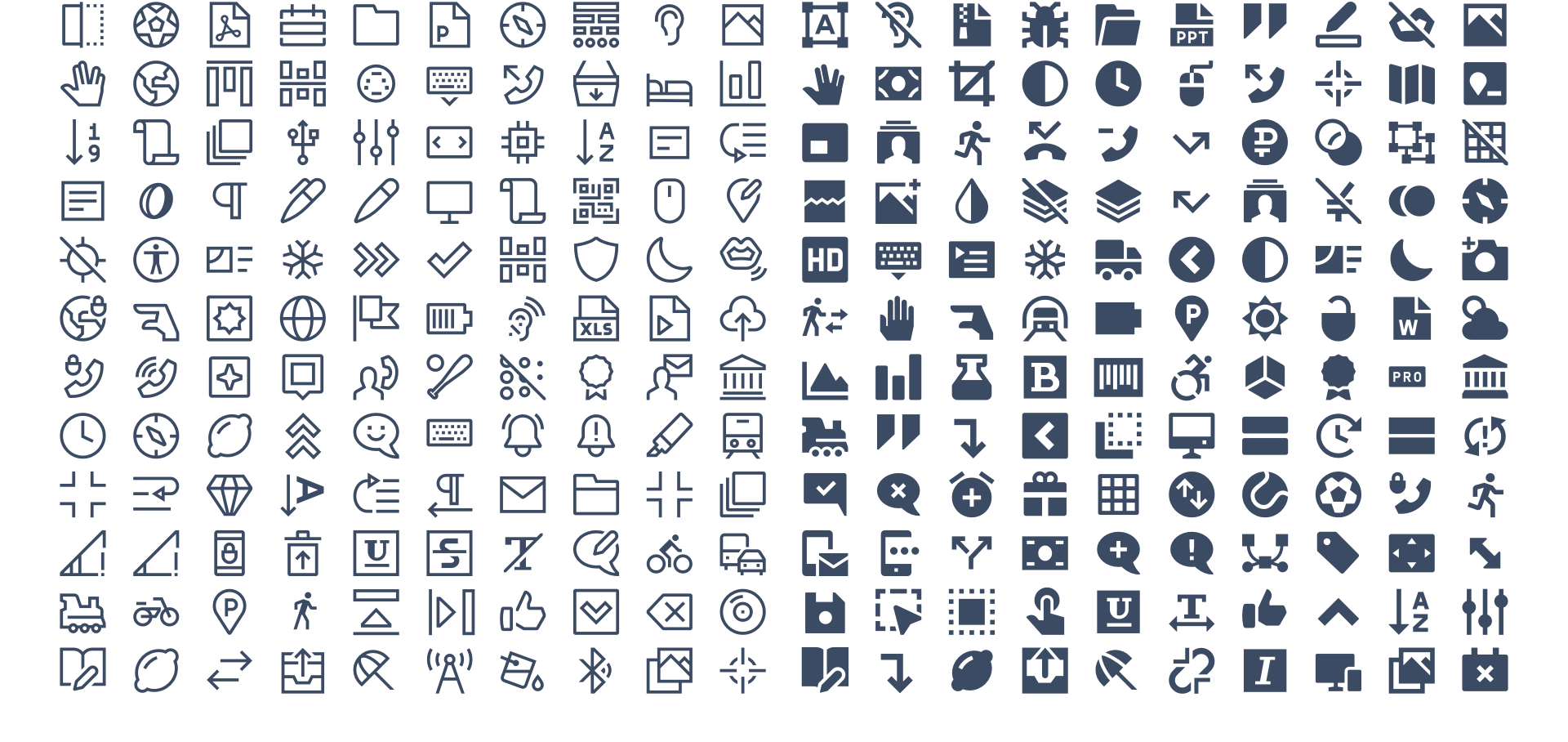 Free icons - SVG, PNG, JavaScript & Icon Font - Over 1500